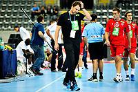 Fredag 2. November 2013 , Hånball , Bring Cup Golden Leauge , Herrer<br /> Norge - Frankrike<br /> Robert Hedin , trener , Norge<br /> Foto: Sjur Stølen / Digitalsport
