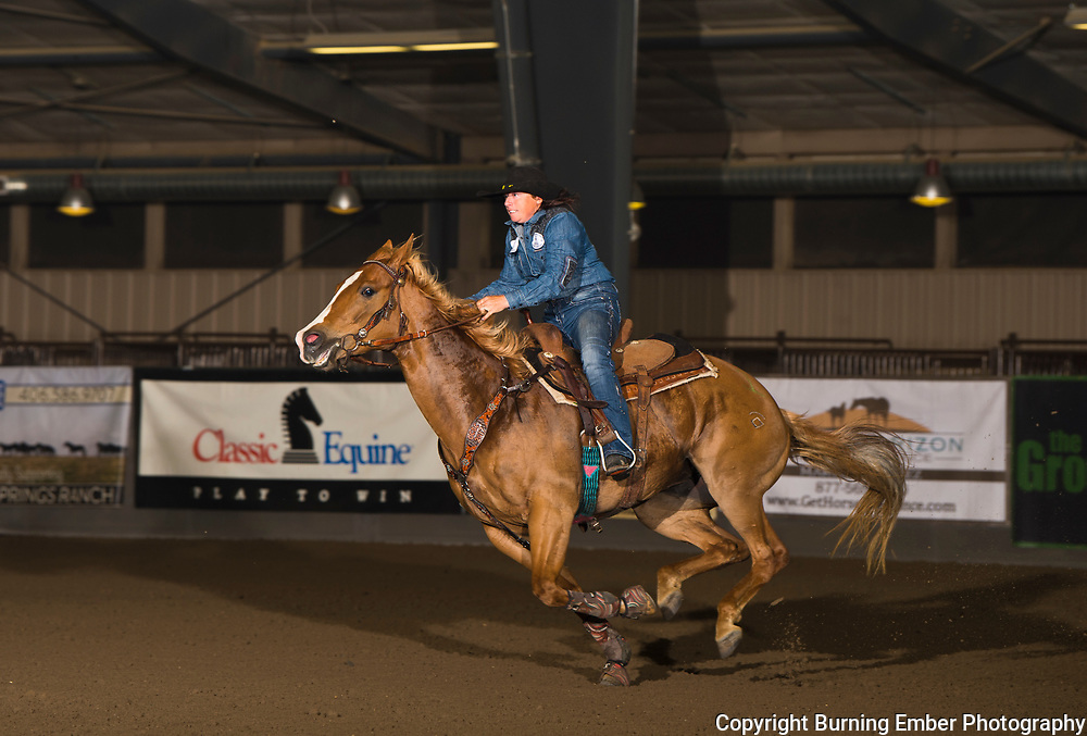 Rusty Rae Quam on No Bull Just Fame at the Copper Springs Faturity, Derby Classic June 1st through the 3rd 2018.  Photo by Josh Homer/Burning Ember Photography.  Photo credit must be given on all uses.