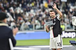 May 19, 2019 - Turin, Turin, Italy - Andrea Barzagli of Juventus FC during the Serie A match at Allianz Stadium, Turin (Credit Image: © Antonio Polia/Pacific Press via ZUMA Wire)