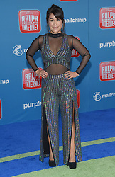 November 5, 2018 - Hollywood, California, U.S. - Dani Fernandez arrives for the 'Ralph Breaks the Internet' World Premiere at the El Capitan theater. (Credit Image: © Lisa O'Connor/ZUMA Wire)