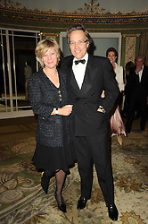 The EARL & COUNTESS OF MARCH & KINRARA at the 20th annual Cartier Racing Awards - the most prestigious award ceremony within European horseracing, held at The Dorchester Hotel, Park Lane, London on 16th November 2010.