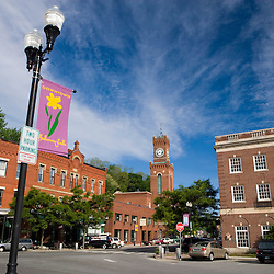 Downtown Bellows Falls, Vermont.  A.K.A. Rockingham.