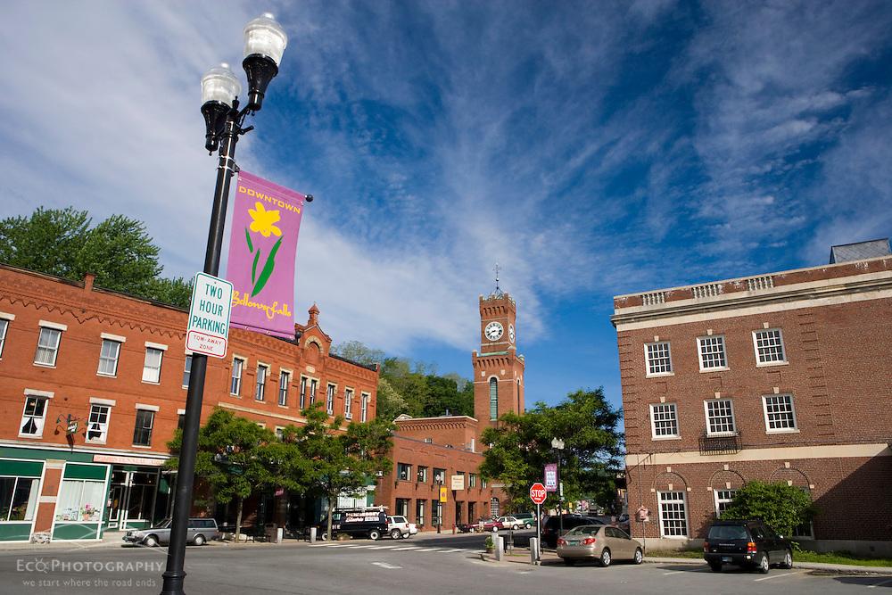 Downtown Bellows Falls, Vermont.  A.K.A. Rockingham.