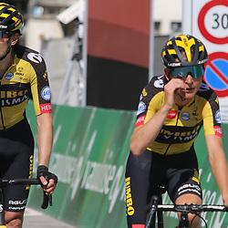 ANDERMATT (SUI) CYCLING<br /> Tour de Suisse stage 8<br /> <br /> Tom Dumoulin, Nathan van Hooijdonk