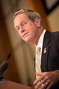 US Congressmen Joe Wilson during a Republican Party BBQ fundraiser for Senator Rand Paul on June 28, 2013 in Columbia, South Carolina.