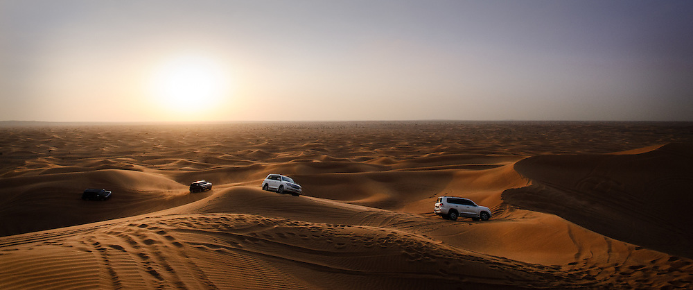 Crossing the Arabian Desert - U.A.E.