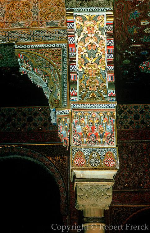 SPAIN, ANDALUSIA, GRANADA Alhambra; Moorish Royal Baths