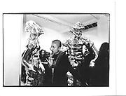 Kavitha Gilkes, Grosse Geister, celebration of Thomas Schutte, Whitechapel gallery, 12th March 1998© Copyright Photograph by Dafydd Jones 66 Stockwell Park Rd. London SW9 0DA Tel 020 7733 0108 www.dafjones.com
