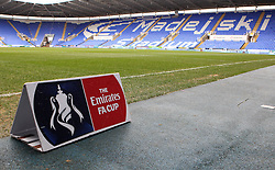 The Madejski Stadium before The Emirates FA Cup tie, between Reading and West Bromwich Albion - Mandatory byline: Robbie Stephenson/JMP - 20/02/2016 - FOOTBALL - Madejski Stadium - Reading, England - Reading v West Bromwich Albion - FA Cup Fifth Round