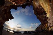 Sunrise at Caves Beach, Lake Macquarie, Australia