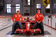 2008 Ferrari Launch, January Maranello