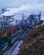 Pulp mill of St. Joe Forest Product Company, Port St. Joe, Florida.