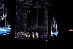 29.06.2019, Burg Clam Konzertareal, Klam bei Grein, AUT, ZZ Top Konzert, anlässlich eines Konzert am Samstag, 29. Juni 2019, in der Burg Clam Konzertareal in Klam bei Grein, im Bild v.l. ZZ Top, Frank Beard (Schlagzeug), Dusty Hill (E-Bass), Billy Gibbons (E-Gitarre) // during a concert of ZZ Top at the Burg Clam Konzertareal in Klam bei Grein, Austria on 2019/06/29. EXPA Pictures © 2019, PhotoCredit: EXPA/ Reinhard Eisenbauer