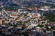 Belo Horizonte_MG, Brasil...Imagens aereas da regiao noroeste de Belo Horizonte com a Serra do Curral ao fundo, Minas Gerais...Aerial view of northwest of Belo Horizonte with Serra do Curral in the background...Foto: BRUNO MAGALHAES / NITRO