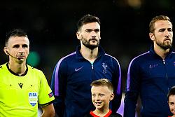 Hugo Lloris of Tottenham Hotspur - Rogan/JMP - 01/10/2019 - FOOTBALL - Tottenham Hotspur Stadium - London, England - Tottenham Hotspur v Bayern Munich - UEFA Champions League Group B.