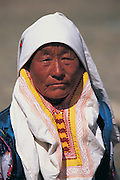 Kazakh woman<br /> Mongolia's largest ethnic minority<br /> near Bayan Ulgii<br /> Western Mongolia