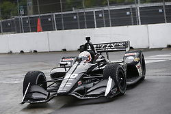 July 14, 2018 - Toronto, Ontario, Canada - JORDAN KING (20) of England attempts to qualify in the rain for the Honda Indy Toronto at Streets of Toronto in Toronto, Ontario. (Credit Image: © Justin R. Noe Asp Inc/ASP via ZUMA Wire)