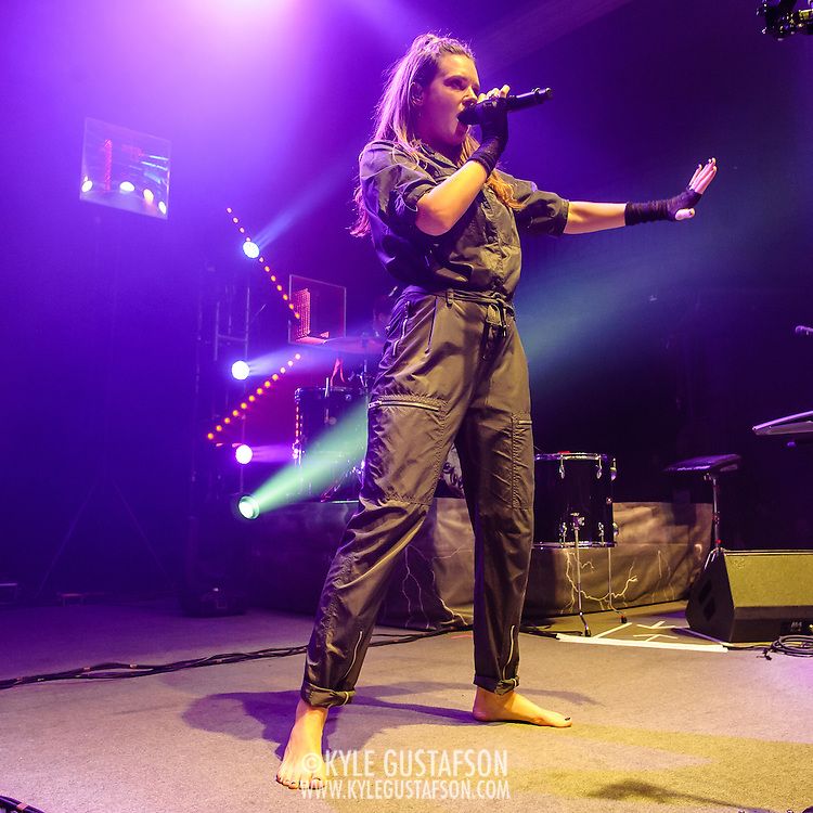 """WASHINGTON, DC - October 19th, 2015 - Tove Lo performs at the 9:30 Club in Washington, D.C. She released her debut album last year, which included the hit single """"Habits (Stay High)."""" (Photo by Kyle Gustafson / For The Washington Post)"""