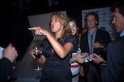 TRACEY EMIN; YVES BEHAR, Conde Nast Traveller Innovation and Design Awards. St. Pancras Renaissance Marriot Hotel. London. 10 May 2011. <br /> <br />  , -DO NOT ARCHIVE-© Copyright Photograph by Dafydd Jones. 248 Clapham Rd. London SW9 0PZ. Tel 0207 820 0771. www.dafjones.com.