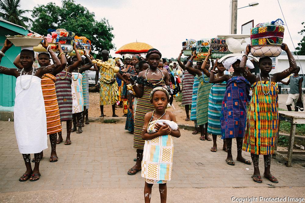 Women of the Volta Region by Antoinette Dumegah