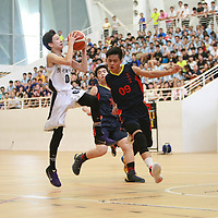 Republic Polytechnic, Thursday, August 25, 2016 —Presbyterian High School (PHS) defeated Anglo-Chinese School (Barker Road) 78-43 to win the National C Division Boys Basketball Championship for the first time.