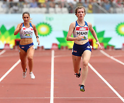 July 22, 2018 - London, United Kingdom - Sophie Hann of  Great Britain and Northern Ireland during T37/38 200m Women during the Muller Anniversary Games IAAF Diamond League Day Two at The London Stadium on July 22, 2018 in London, England. (Credit Image: © Action Foto Sport/NurPhoto via ZUMA Press)