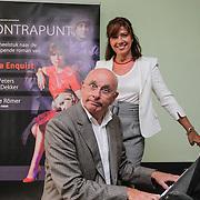 NLD/Amsterdam/20120910 - Perspresentatie toneelstuk Contrapunt, Janke Dekker en Michael van Praag