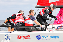 , Kiel - Kieler Woche 17. - 25.06.2017, Audi e-tron Cup - Boot 2 - Team Adrenalin - Tom Kristensen, Rick Goldmann, Hauke Wahl