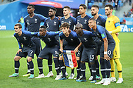 Team of France before the 2018 FIFA World Cup Russia, Semi Final football match between France and Belgium on July 10, 2018 at Saint Petersburg Stadium in Saint Petersburg, Russia - Photo Thiago Bernardes / FramePhoto / ProSportsImages / DPPI