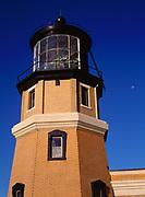 Split Rock Lighthouse above Lake Superior, Split Rock Lighthouse State Park, Minnesota.