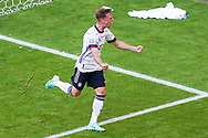 Joshua Kimmich of Germany celebrates after Ruben Dias of Portugal made an own goal during the UEFA Euro 2020, Group F football match between Portugal and Germany on June 19, 2021 at Allianz Arena in Munich, Germany - Photo Andre Weening / Orange Pictures / ProSportsImages / DPPI