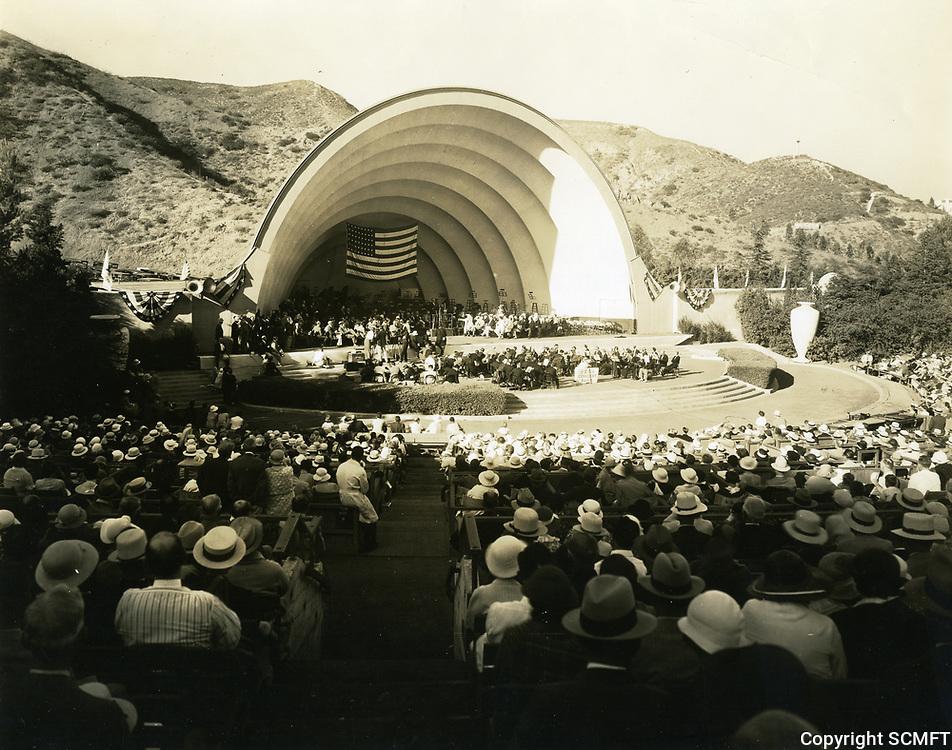 1934 The Hollywood Bowl