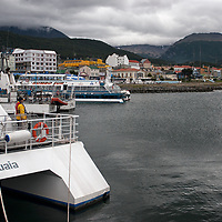 Many tourists stop at Ushuaia before starting excursions on the Beagle Channel. Ushuaia is also a port of departure for heading down to Antarctica.