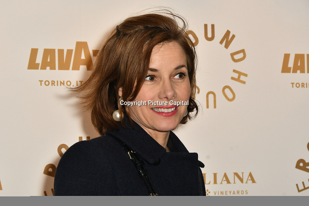 Darcey Bussell attend Biennial fundraiser in aid of The Roundhouse Trust which helps 3000  11-25 year-olds from all backgrounds to realise their creative potential through opportunities in music, media and performing arts on 14 March 2019 at Roundhouse Gala, London, UK.