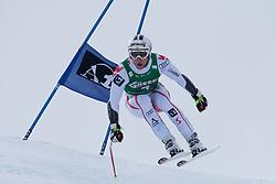 21.01.2011, Hahnenkamm, Kitzbuehel, AUT, FIS World Cup Ski Alpin, Men, Super G, im Bild Romed Baumann (AUT) takes to the air competing in the 2011 Hahnenkamm Super Giant Slalom race (Super G)part of  Audi FIS World Cup races in Kitzbuhel Austria. EXPA Pictures © 2011, PhotoCredit: EXPA/ M. Gunn