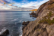 View of the Blasket Islands from Dunmore Head the western most point of Europe on the Dingle Peninsula, Ireland