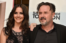 Christina Arquette and David Arquette attend the Survivors Guide to Prison premiere at The Landmark Theatre on February 20, 2018 in Los Angeles, California. Photo by Lionel Hahn/AbacaPress.com