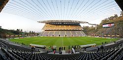 BRAGA, PORTUGAL, Wednesday, March 9, 2011: Liverpool's players during training at the Estadio Municipal de Braga ahead of the UEFA Europa League Round of 16 1st leg match against Sporting Clube de Braga. (Photo by David Rawcliffe/Propaganda)