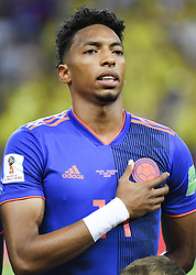June 25, 2018 - Kazan, Russia - n Moijca of Colombia during the 2018 FIFA World Cup Group H match between Poland and Colombia at Kazan Arena in Kazan, Russia on June 24, 2018  (Credit Image: © Andrew Surma/NurPhoto via ZUMA Press)