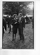 Alexandra de la Poype; Jean Volcker. 1987 *** Local Caption *** -DO NOT ARCHIVE-© Copyright Photograph by Dafydd Jones. 248 Clapham Rd. London SW9 0PZ. Tel 0207 820 0771. www.dafjones.com.