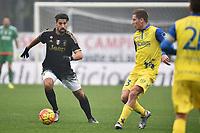 Sami Khedira Juventus, Valter Birsa Chievo <br /> Verona 31-01-2016 Stadio Bentegodi, Football Calcio Serie A 2015/2016 Chievo - Juventus. Foto Andrea Staccioli / Insidefoto