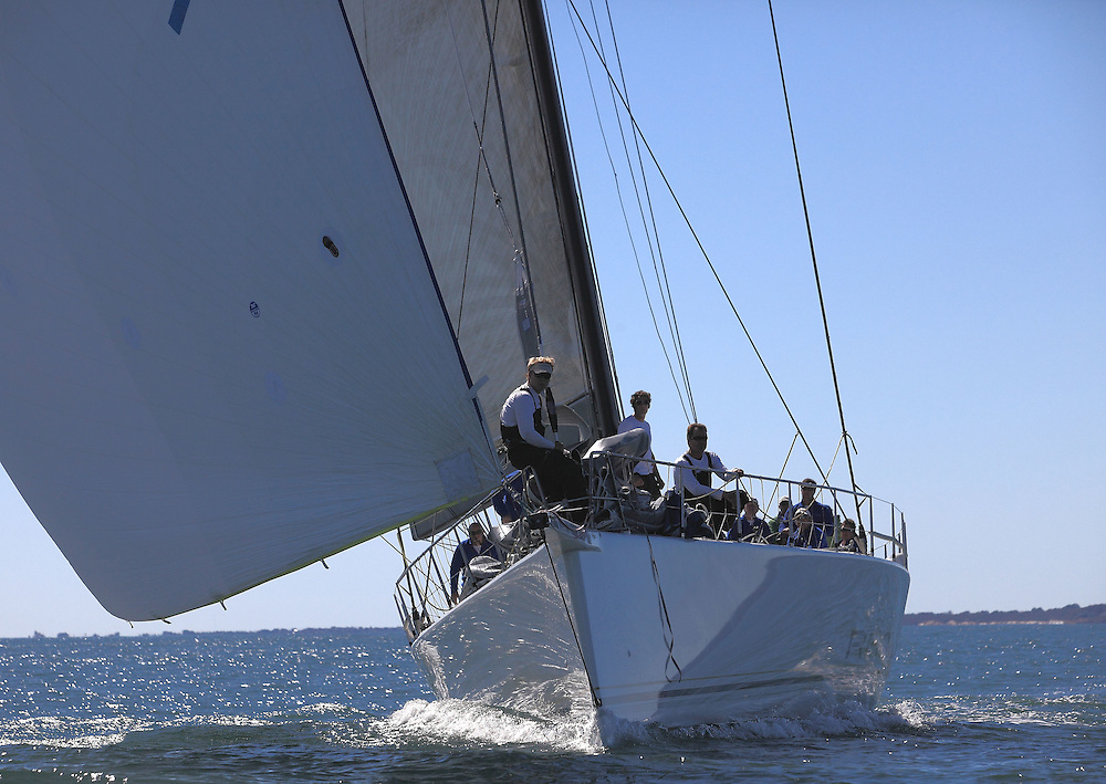 Rambler at the 9th Annual Sail for Hope event in Newport, RI. Boats raced in the annual Sail for Hope 2010 around Narragansett Bay. Top images from 2010.