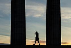 Sunrise on Calton Hill, Edinburgh