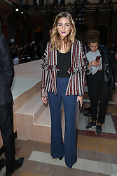 Olivia Palermo attending at the Sonia Rykiel show as a part of Paris Fashion Week Ready to Wear Spring/Summer 2017 on 03 October, 2016 in Paris, France. Photo by Jerome Domine/ABACAPRESS.COM