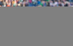 31.03.2019, Red Bull Arena, Salzburg, AUT, 1. FBL, FC Red Bull Salzburg vs FK Austria Wien, Meistergruppe, 23. Spieltag, im Bild Fredrik Gulbrandsen (FC Red Bull Salzburg), Munas Dabbur (FC Red Bull Salzburg), Andreas Ulmer (FC Red Bull Salzburg), Andre Ramalho (FC Red Bull Salzburg), Zlatko Junuzovic (FC Red Bull Salzburg) // during the tipico Bundesliga Master group, 23th round match between FC Red Bull Salzburg and FK Austria Wien at the Red Bull Arena in Salzburg, Austria on 2019/03/31. EXPA Pictures © 2019, PhotoCredit: EXPA/ Stefanie Oberhauser