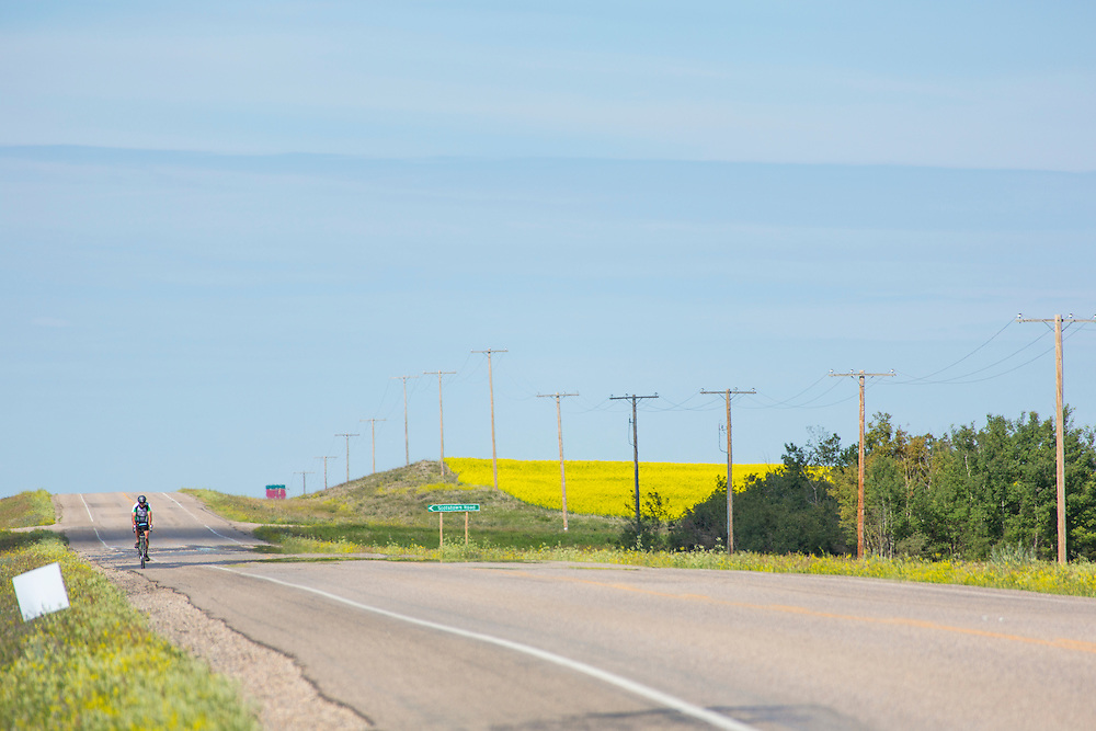 Highway 14, near Highway 675, between Evesham and Unity, Day 1.