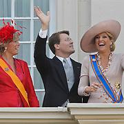 NLD/Den Haag/20100921 - Prinsjesdag 2010, Prinses Laurentien, Prins Constatijn, Prinses Maxima