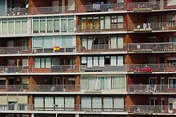Block of flats near the port in Santander, Spain<br /> <br /> (c) Andrew Wilson | Edinburgh Elite media