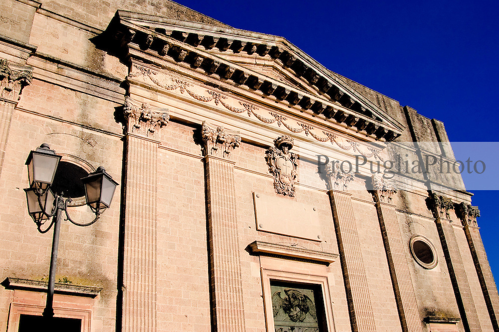 Veduta del Duomo di Alessano.
