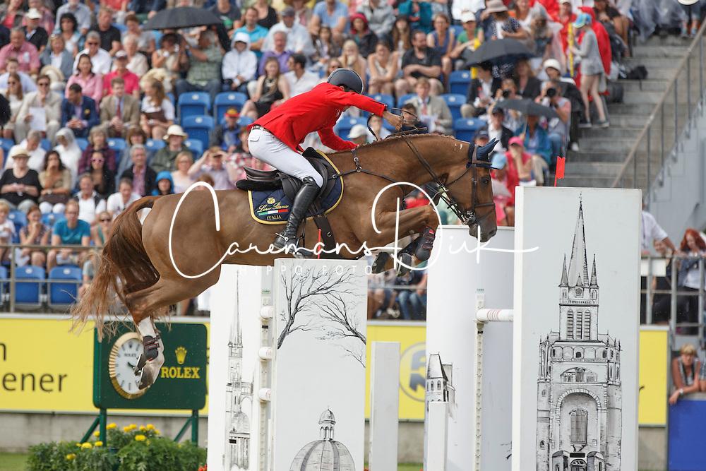 Bucci Piergiorgio, (ITA), Catwalk Z<br /> Individual Final Competition<br /> FEI European Championships - Aachen 2015<br /> © Hippo Foto - Dirk Caremans<br /> 23/08/15